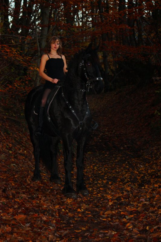 Bibou et moi automne 2012