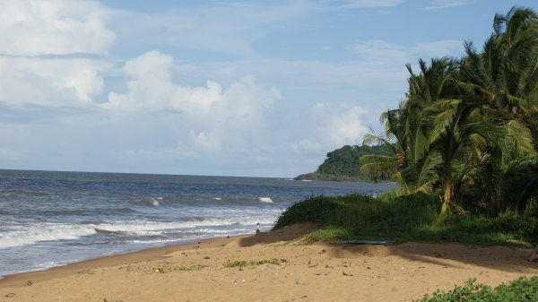 Plage de Guyane