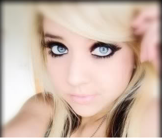 Pretty emo blond girls (jenna maison)