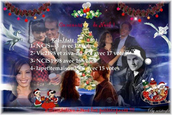 Concours de Noël n°2 Résultats et Récompenses