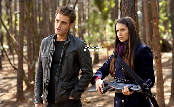 """. Voici 7 nouveaux stills de l'épisode 18 de la saison 3, intitulé """"The Murder of One"""". On contaste un nouveau rapprochement entre Stefan et Elena. Vos avis ? Etes-vous contents ? ."""