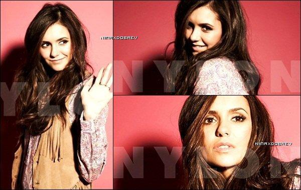 . 11 nouveaux outtakes du shoot de Nina pour Nylon Magasine, du mois de février. .