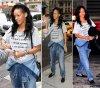 Rihanna qui a quittée Hawaii, se balade dans les rues de New York, le 1 mai 2012.