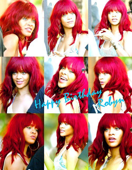 HAPPY BIRTHDAY ROBYN ♥