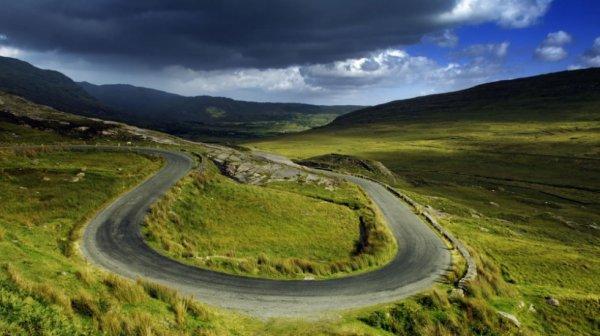 Route irlandaise...
