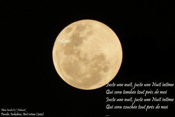 La Lune {Photo Personnelle}