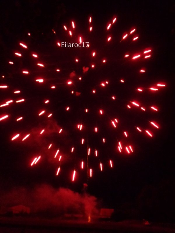 Feu d'artifice (13.7.2017) [Photo personelle]