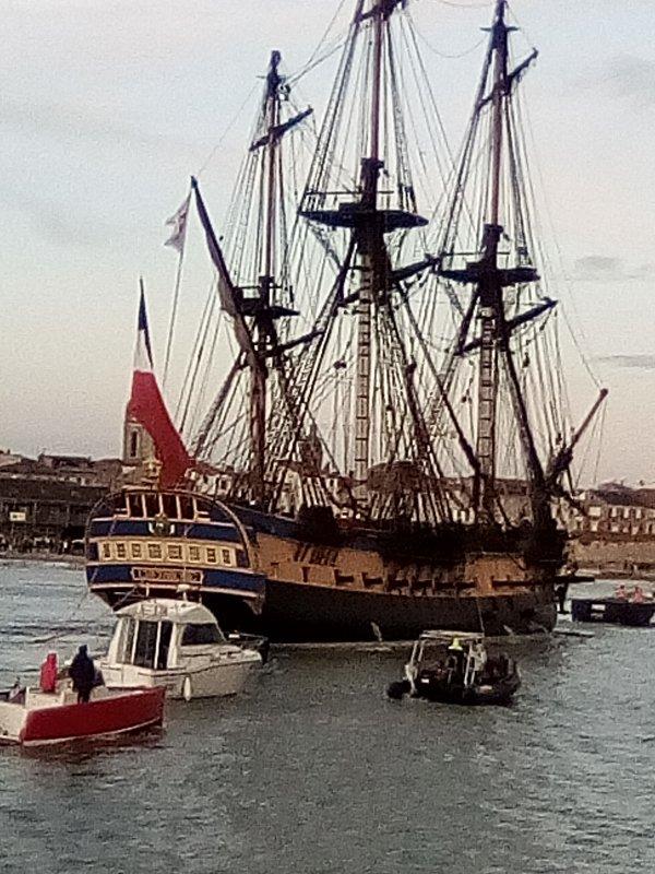L'hermione est de retour à La Rochelle !! [Photos personnelles]