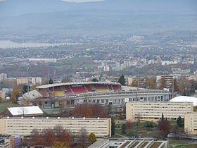 le stade de football du fc lausanne sport