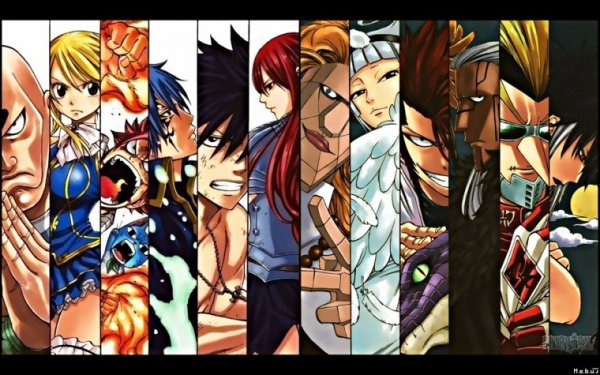 Ton personnage fairy tail