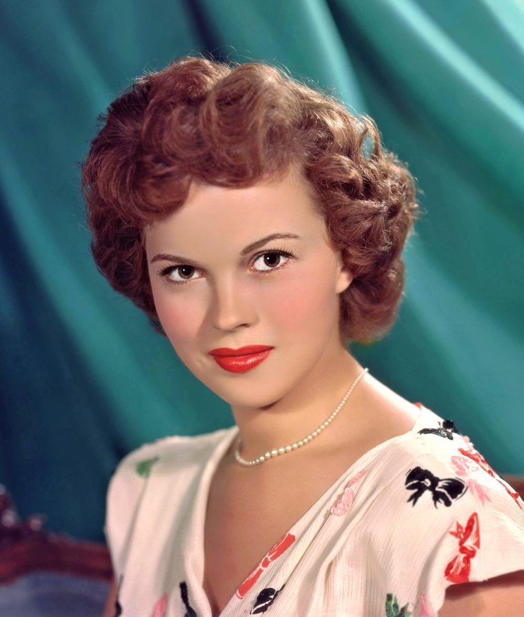 Shirley TEMPLE (23 Avril 1928 / 10 Février 2014) (photo N.B. 1935)