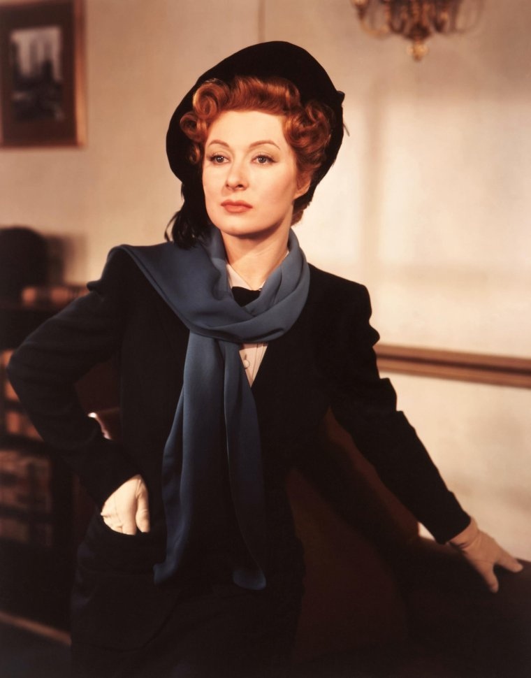 Greer GARSON (29 Septembre 1904 / 6 Avril 1996) (photo N.B. 1954)