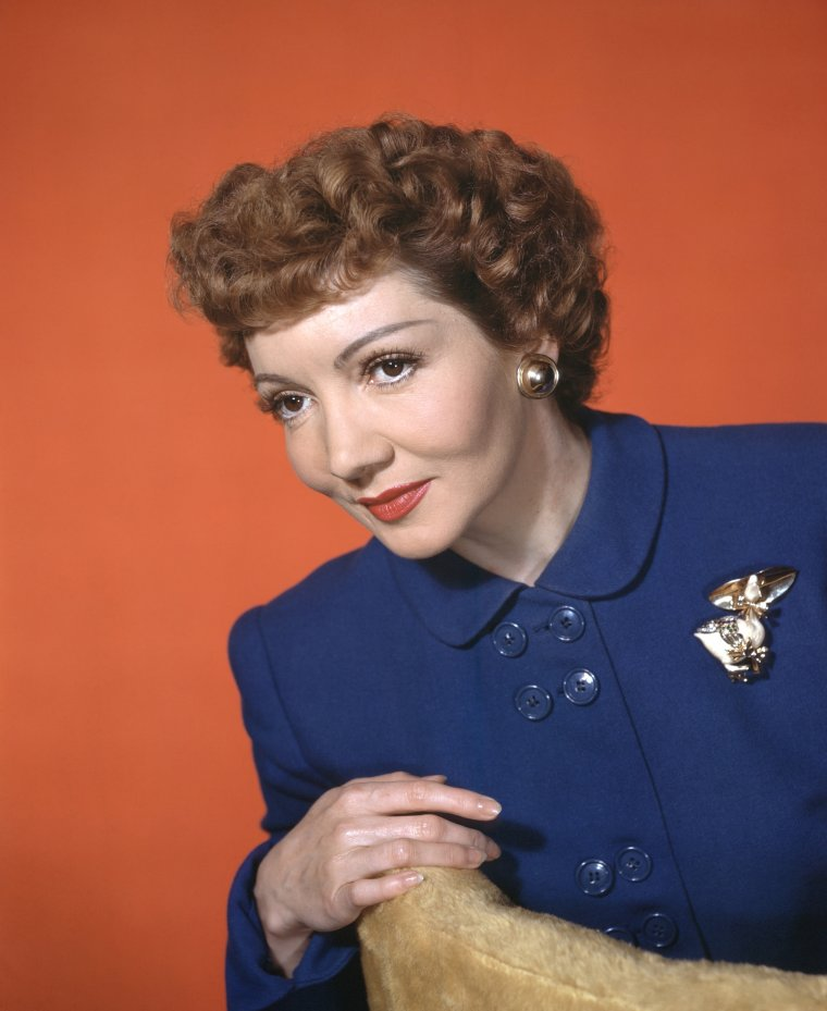 Claudette COLBERT (13 Septembre 1903 / 30 Juillet 1996) (photo N.B. 1934)