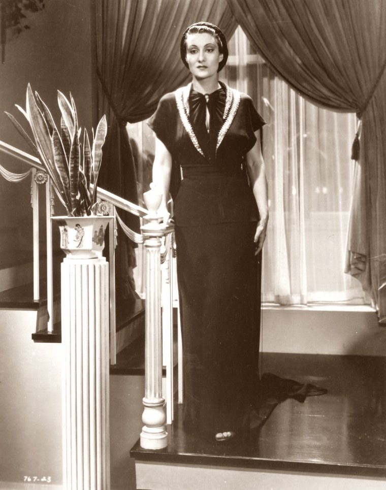 Gloria HOLDEN (5 Septembre 1903 / 22 Mars 1991) (photo sépia 1936)