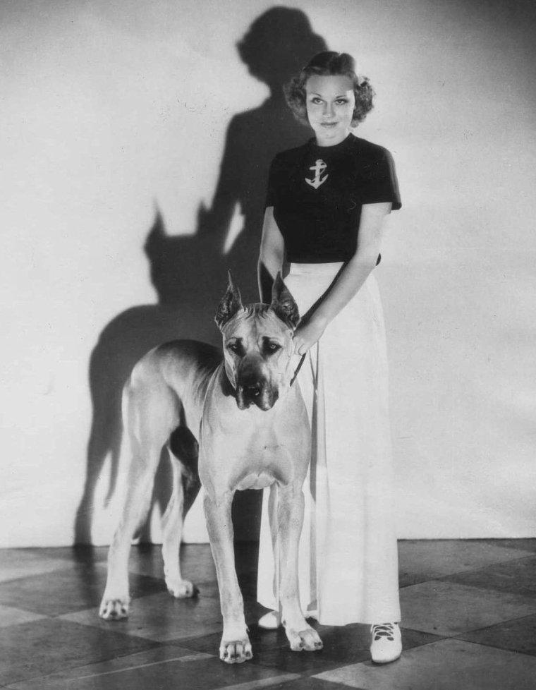 Jean HOWARD (13 Octobre 1910 / 20 Mars 2000) (photo N.B. 1933)