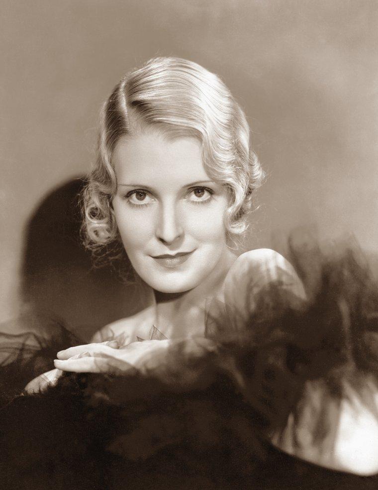 Miriam JORDAN (3 Mars 1904 / 4 Décembre 1987) (photo N.B. 1933)