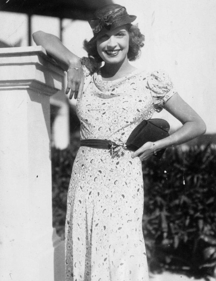 Lili DAMITA (10 Juillet 1904 / 21 Mars 1994) (photo N.B. 1933)