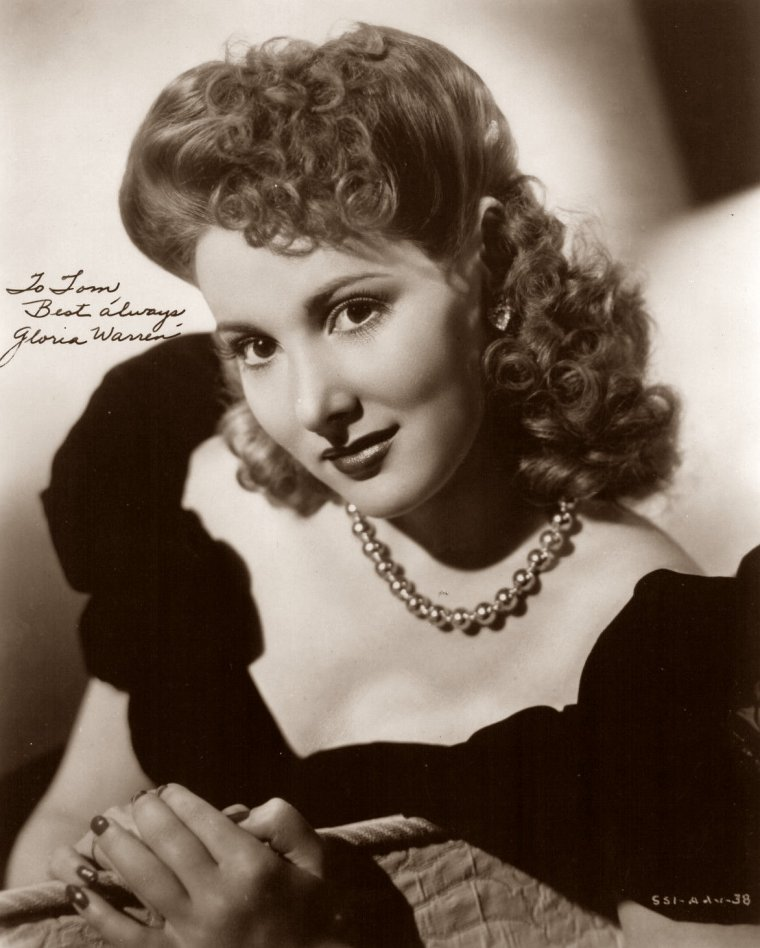 Gloria WARREN (7 Avril 1926) (photo N.B. 1942)