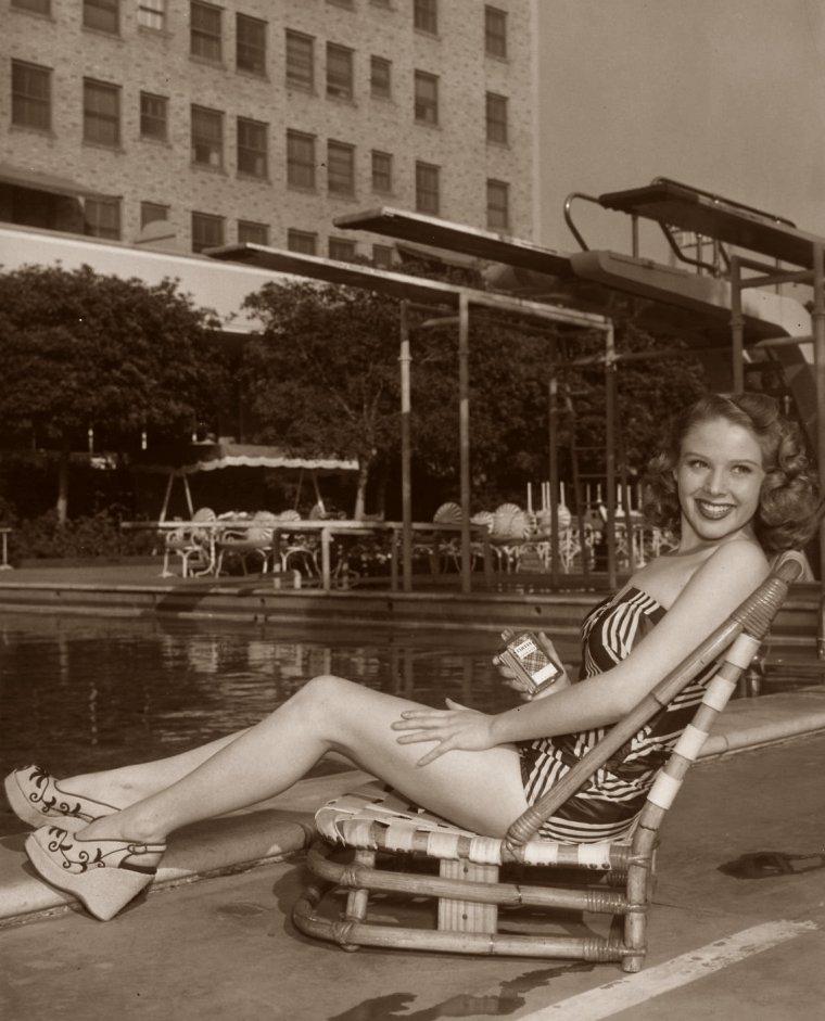 Imagene WILLIAMS (? / ?) (photo sépia 1950)