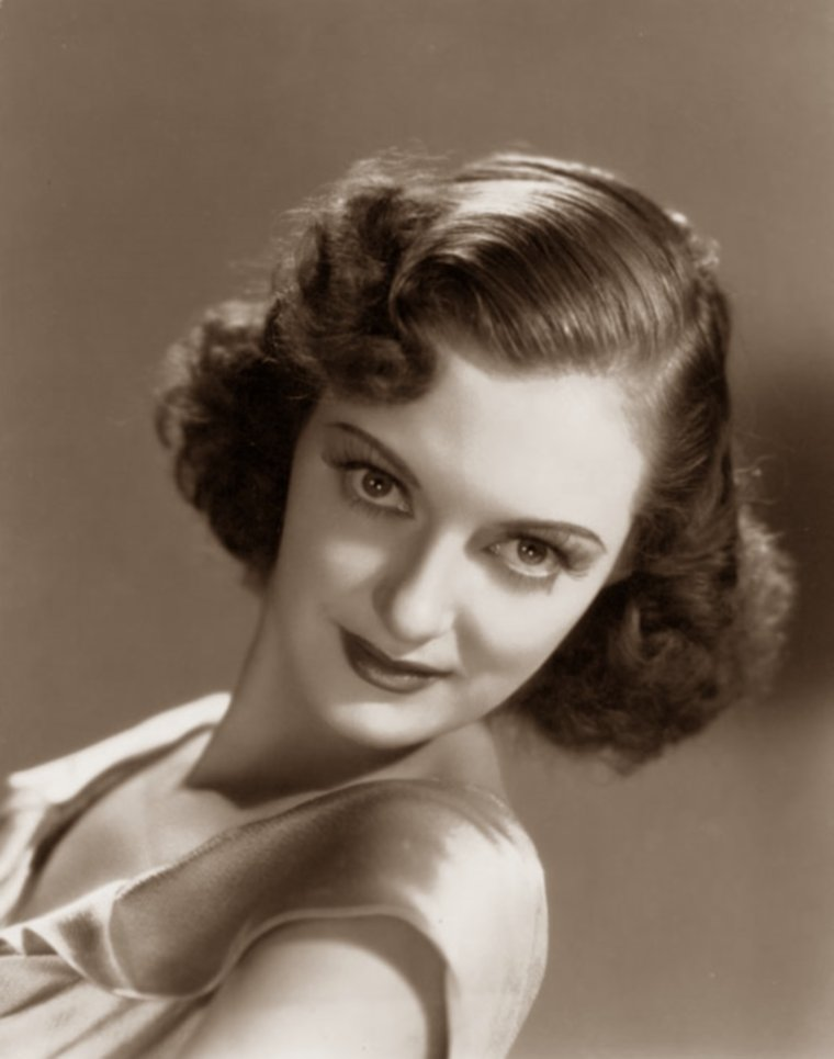 Joy HODGES (22 Janvier 1914 / 19 Janvier 2003) (photo sépia 1937)