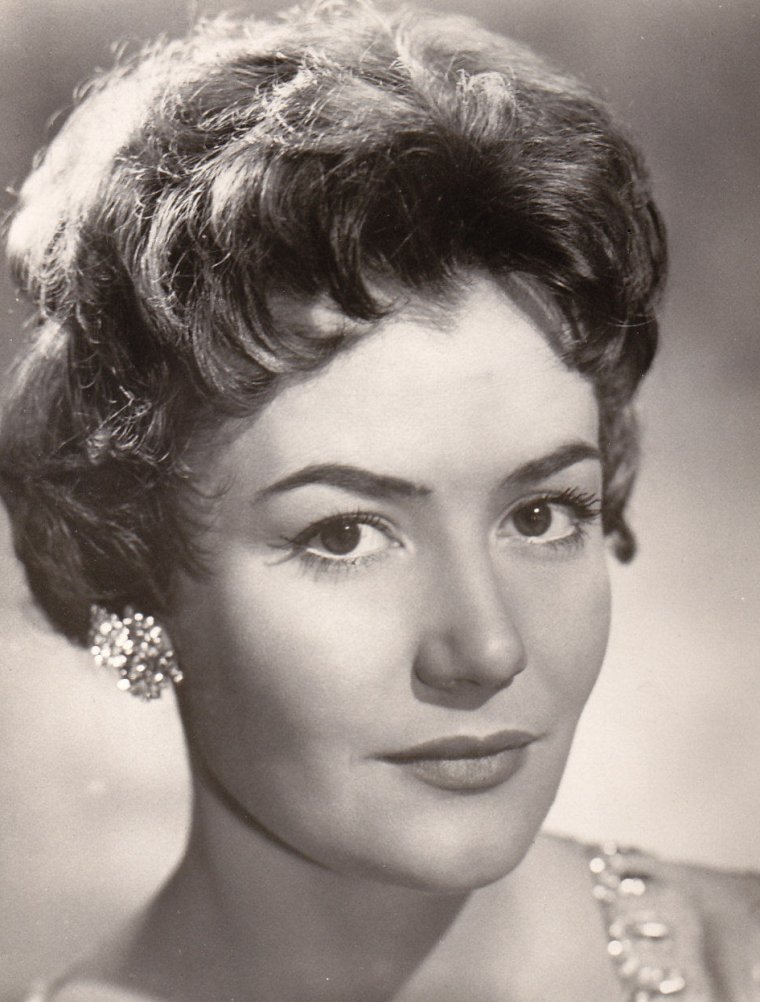 Renate HOLM (10 Août 1931) (photo couleur 1955)