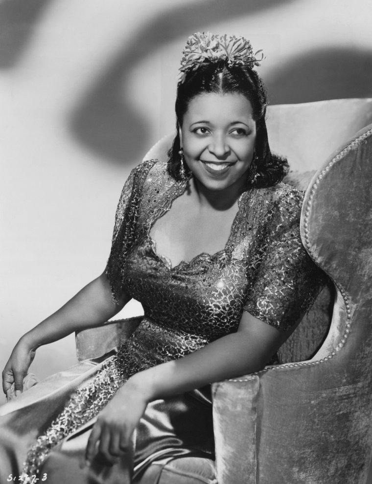 Ethel WATERS (31 Octobre 1896 / 1er Septembre 1977) (photo autograph 1939)
