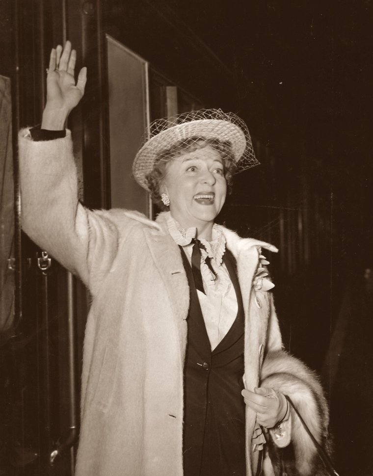 Jessie Royce LANDIS (25 Novembre 1896 / 2 Février 1972) (photo N.B. 1954)