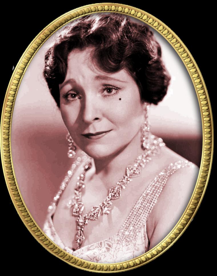 Margaret DUMONT (20 Octobre 1882 / 6 Mars 1965) (photo N.B. 1936)