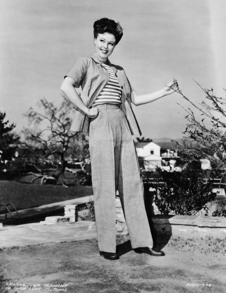 Louise LA PLANCHE (6 Février 1919 / 7 Septembre 2012)