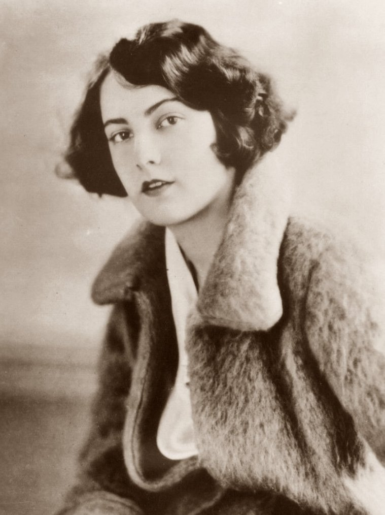 Barbara BEDFORD (19 Juillet 1900 / 25 Octobre 1981) (photo N.B. 1928)