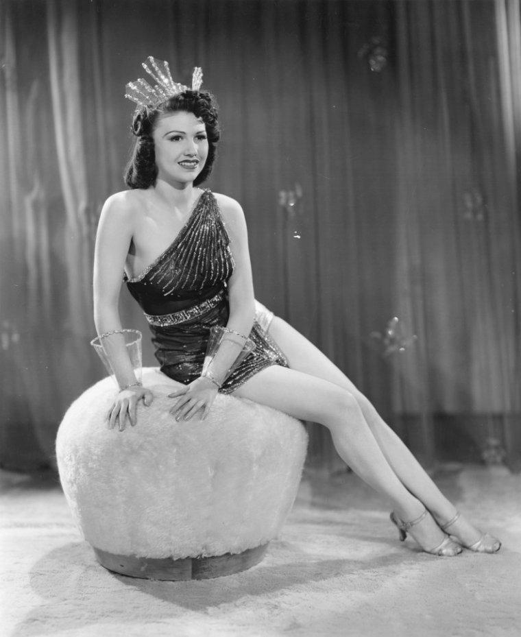 Loretta KING (20 Août 1917 / 10 Septembre 2007) (photo N.B. 1940)