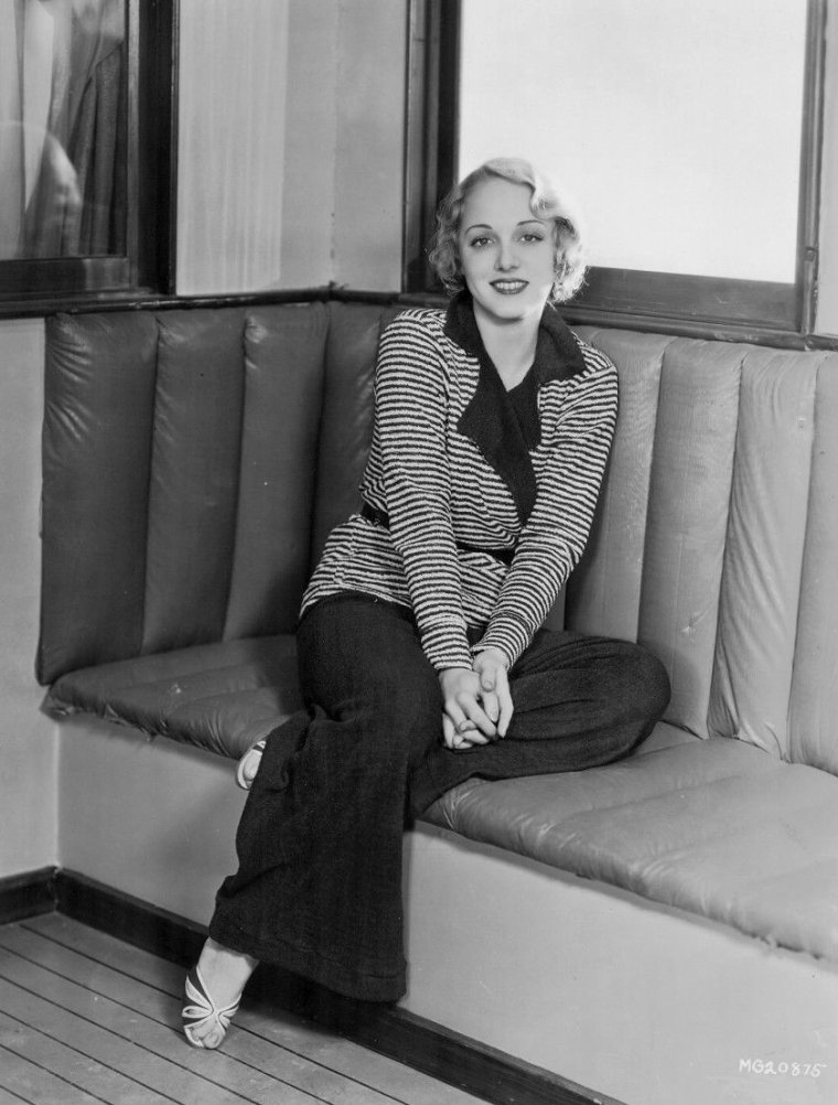 Leila HYAMS (1er Mai 1905 / 4 Décembre 1977) (photo N.B. 1932)