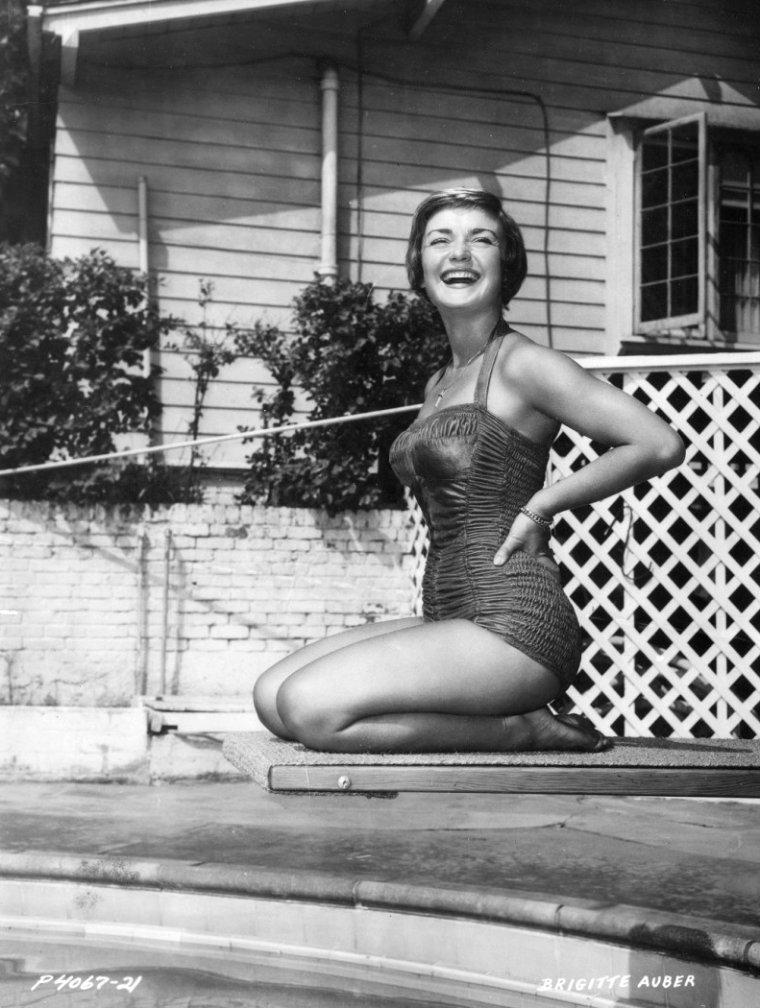Brigitte AUBER (27 Avril 1928)