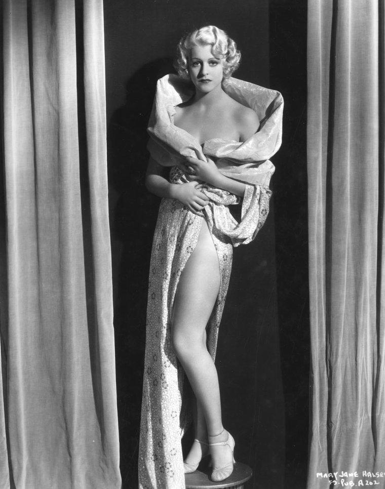 Mary Jane HALSEY parfois créditée Mary HALSEY (10 Août 1913 / 26 Février 1989)