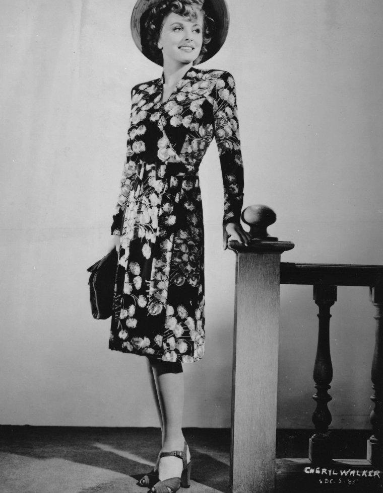 Cheryl WALKER (1er Août 1918 / 24 Octobre 1971)