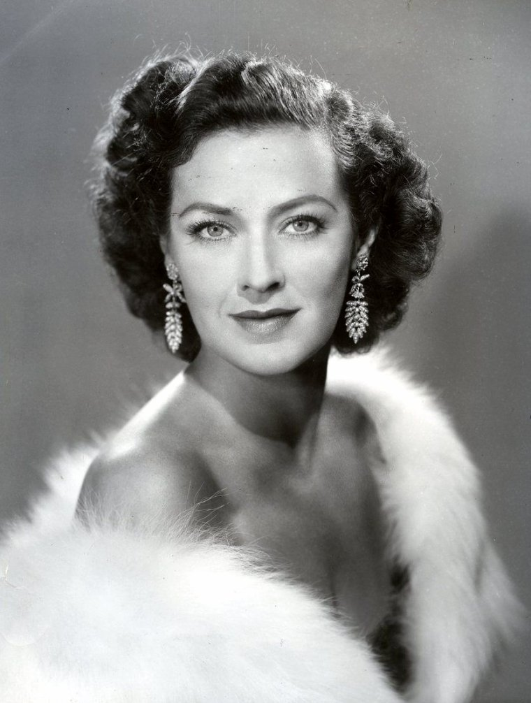 Jane FROMAN (10 Novembre 1907 / 22 Avril 1980) (photo sépia 1941)
