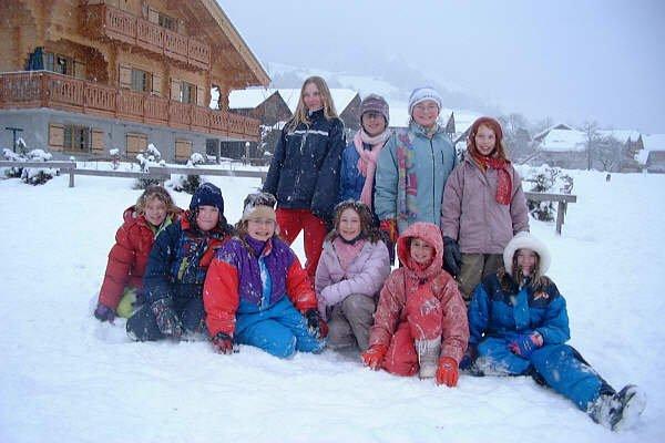a la neige en 2006