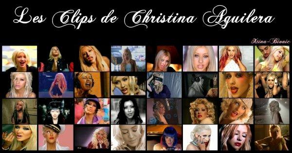 Clipographie de Christina Aguilera