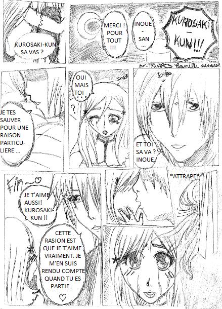 1er Doujinshi Bleach !! IchiHime !