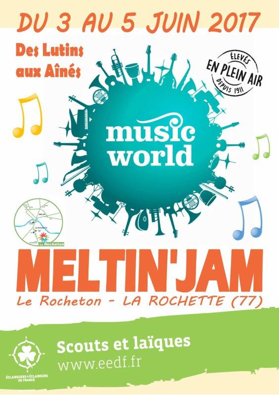 Music World au Meltin'Jam