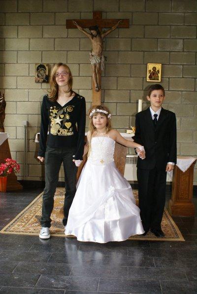 Elodie, Valentin et Sandy mes 3 amours