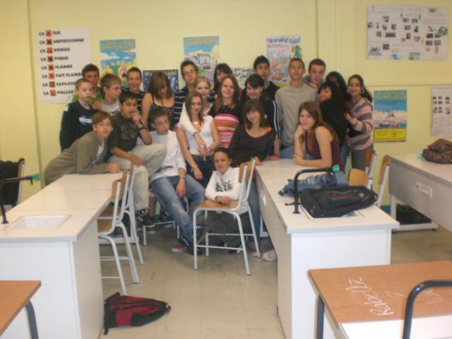 la classe 3e5 2006/2007