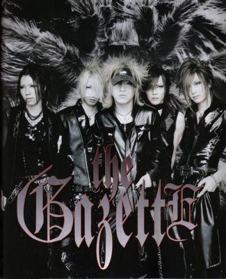 The Gazette : live report du concert au Bataclan - 26/10/2007