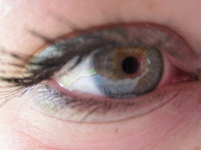 Mes yeux!