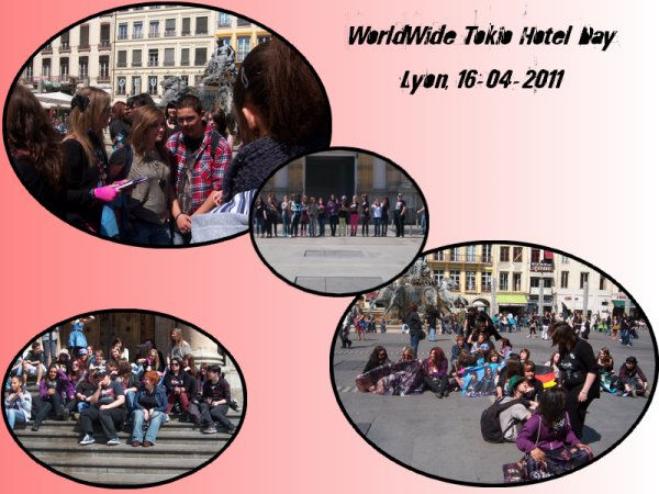 WorldWide Tokio Hotel Day Lyon