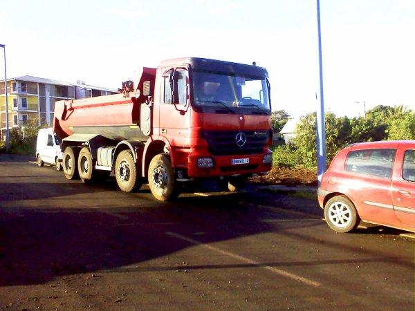 Mercedes Actros 41 43 porteur