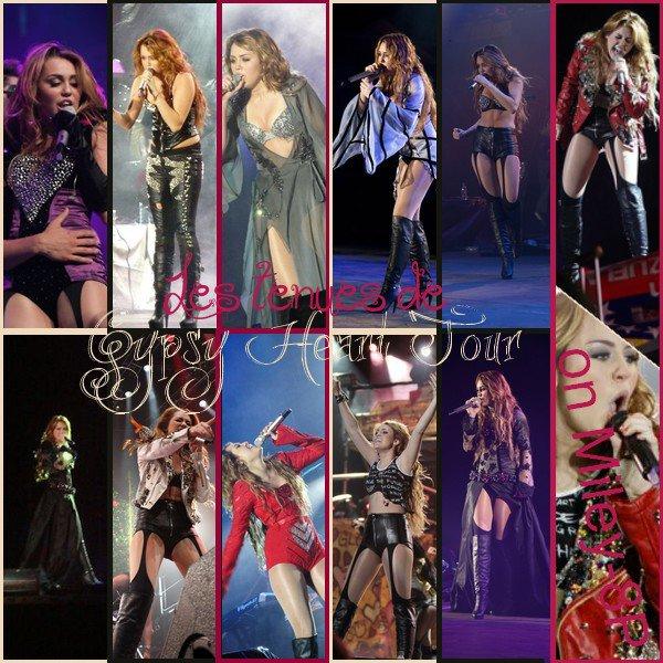 Le 02/07/2011 C'était le dernier concert du Gypsy Heart Tour ! Lors de ce concert, Miley a repris pour la première fois une chanson du groupe Gorillaz, « On Melancholy Hill », dédicacée à l'un de ses danseurs qui va se marier. Ne vous inquiétez pas, même si elle n'est pas venue en Europe, la tournée a été filmé, elle sortira donc en DVD. Mais personne ne sait, à l'heure actuelle, quand !