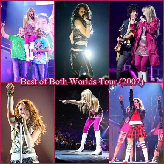 Article Spécial Concerts de Miley. Quel concert tu préfères ?