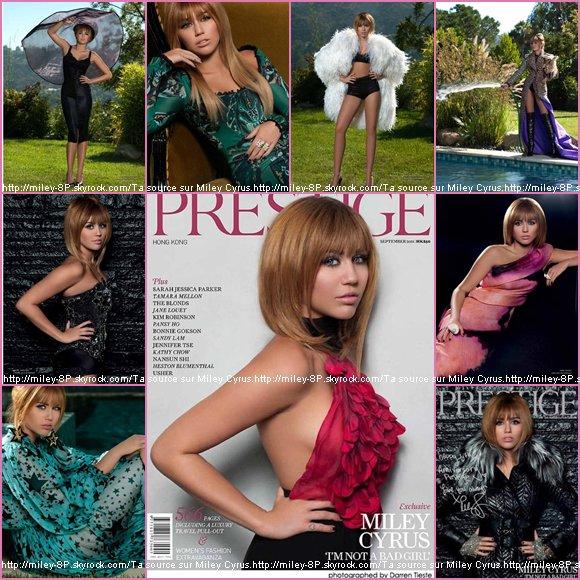 """Retrouvez ci-dessous le scan du magazine """"Prestige"""" + des photos personnelles ! + un candids rajouté le 07.09.2011"""
