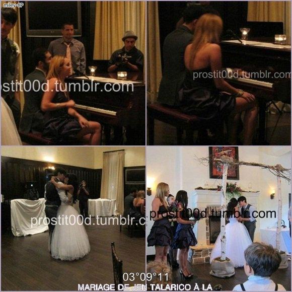 Retrouvez ci-dessous des photos du mariage des danseurs de Miley (pas de non taguées pour le moment, désolée) + 2 nouvelles photos personnelles ! + PENSEE POUR L'ATTENTAT DU 11 SEPTEMBRE 2011 :(